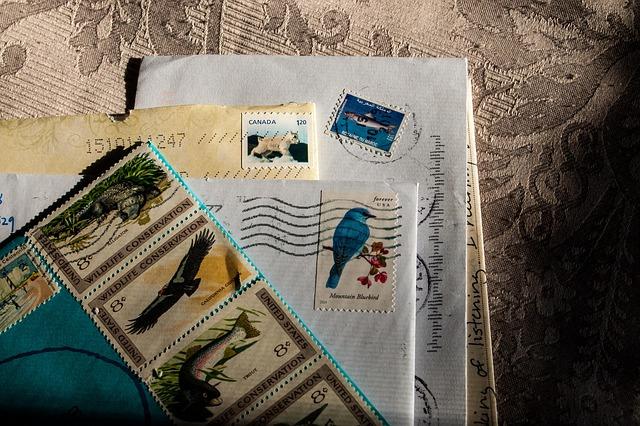 hromádka dopisů