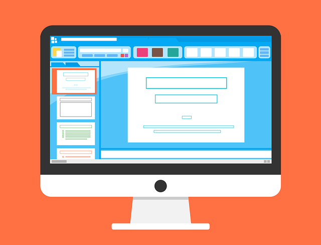 monitor ilustrace